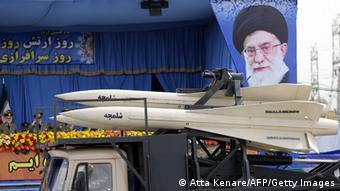 Bildergalerie Irak Regionalkonflikt iranische Streitkräfte Parade 18.04.2014