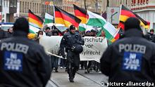 Demonstrationen gegen Asylbewerberheim in Leipzig (picture-alliance/dpa)