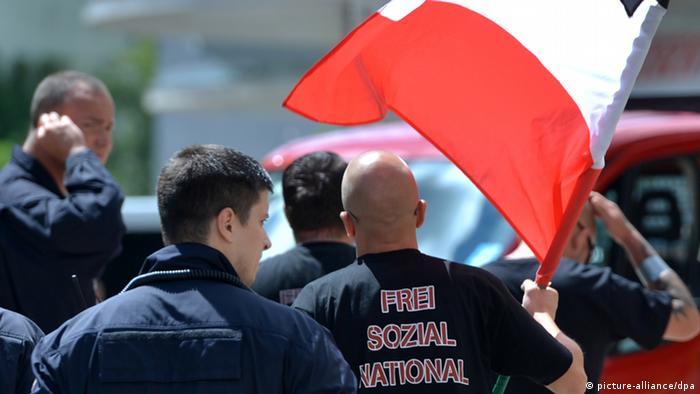 Neo-nazis in Merseburg