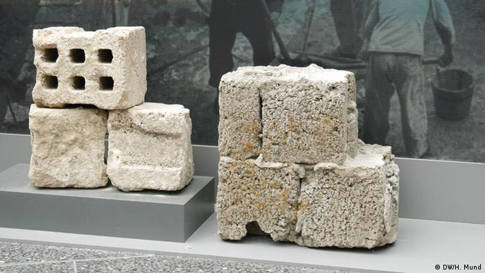 Blocks of concrete from the Berlin Wall (Bild: Heike Mund)