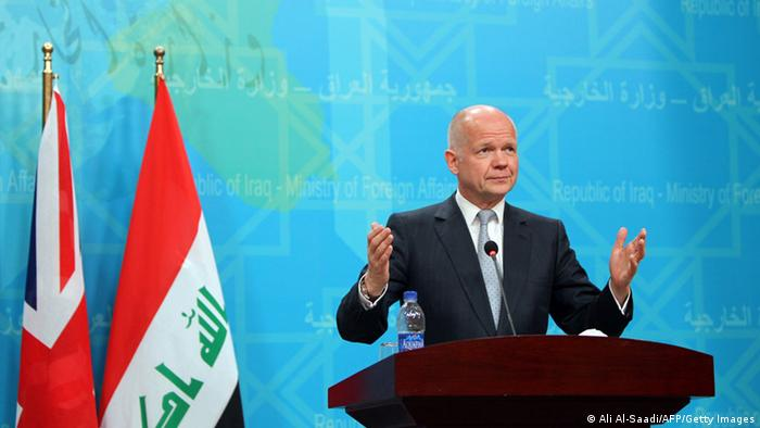 William Hague in Baghdad