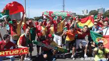 FIFA Fußball WM 2014 Ghana Portugal Fans