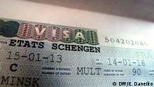 Weißrussland Reisepass mit Schengen Visum