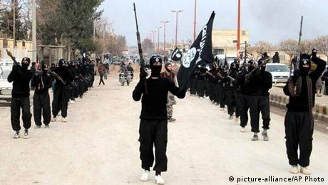 ISIS militants from Syria