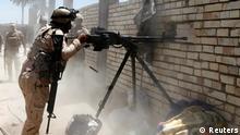 Bildergalerie Irak Regionalkonflikt irakische Soldaten 24.06.2014