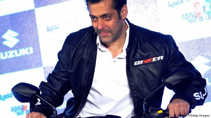 Indien Film Bollywood Schauspieler Salman Khan (STR/AFP/Getty Images)