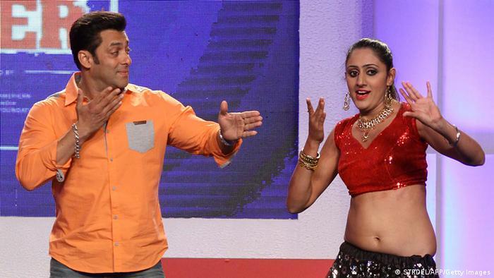 Indien Film Bollywood Schauspieler Salman Khan