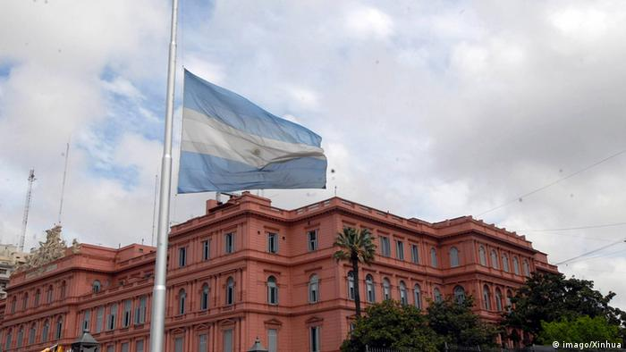 Argentina's presidential palace in Buenos Aires