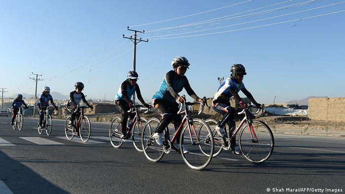 Afghanistan Radsport Frauen Nationalmannschaft (Shah Marai/AFP/Getty Images)