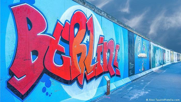 Des restes du mur de Berlin sont encore visibles dans la capitale allemande