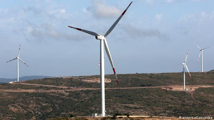 Nordex Windpark in der Türkei (Foto: dpa)