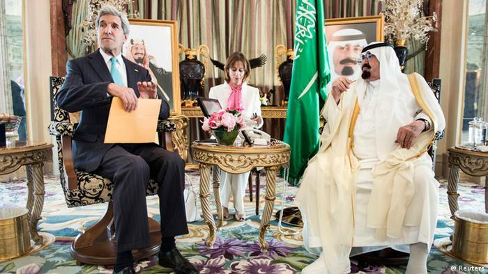 اوضاع عراق و سوریه، موضوع محوری گفتوگوهای جان کری، وزیر امورخارجه آمریکا با ملک عبدالله در ۲۷ ژوئن ۲۰۱۴ بود