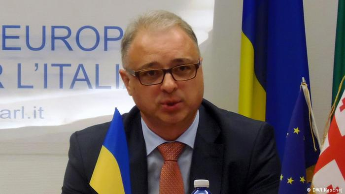 Посол України в Італії Євген Перелигін