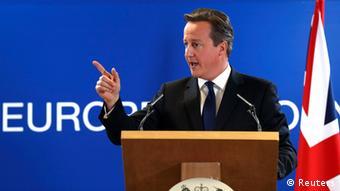 EU Gipfel David Cameron 27.06.2014