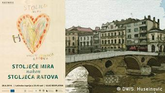 Konferenz Habsburg in Sarajevo - Plakat Haris Pasovic
