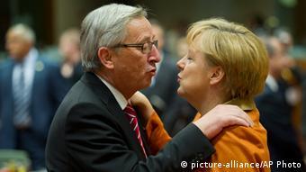 Jean-Claude Juncker & Angela Merkel 18.10.2012