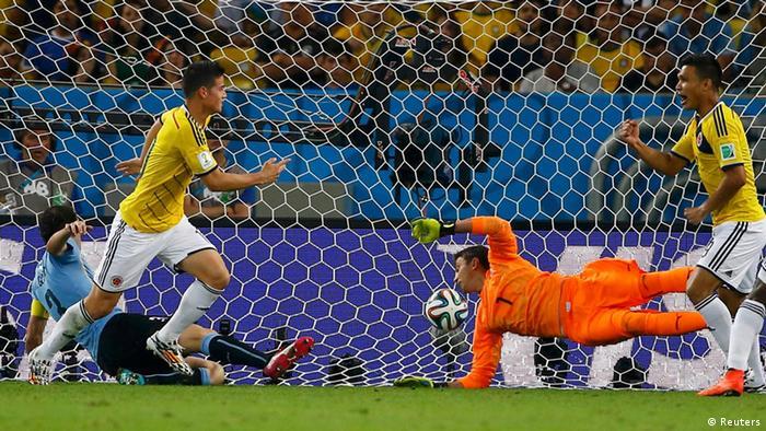 En ningún momento Uruguay logró dominar el partido.