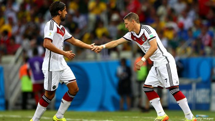 Si Sami Khedira va al Bayern, allí se reencontrará con su colega de la selección alemana Bastian Schweinsteiger.