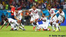 WM 2014 Achtelfinale Griechenland Costa Rica