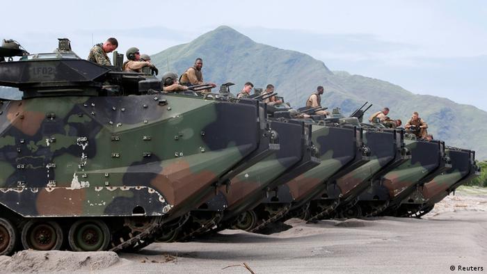 Militärmanöver US Philippinen 30.06.2014