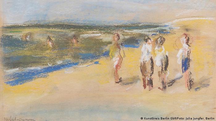Купающиеся на пляже (1910)