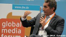 GMF Global Media Forum 2014 Auftritt Bassem Youssef