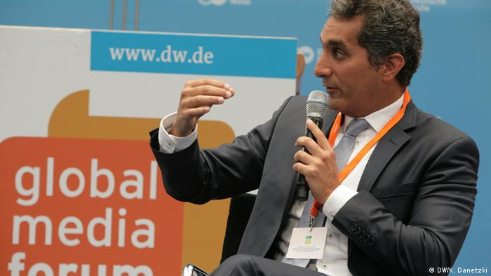 GMF Global Media Forum 2014 Auftritt Bassem Youssef
