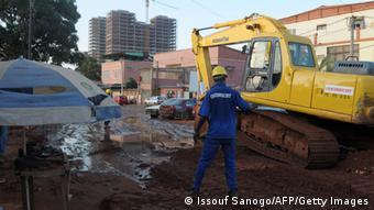 Angola Luanda Baustelle Odebrecht