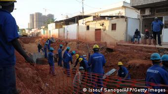 Obra da Odebrecht em Luanda, Angola