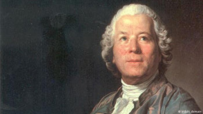A portrait of Christoph Willibald Gluck