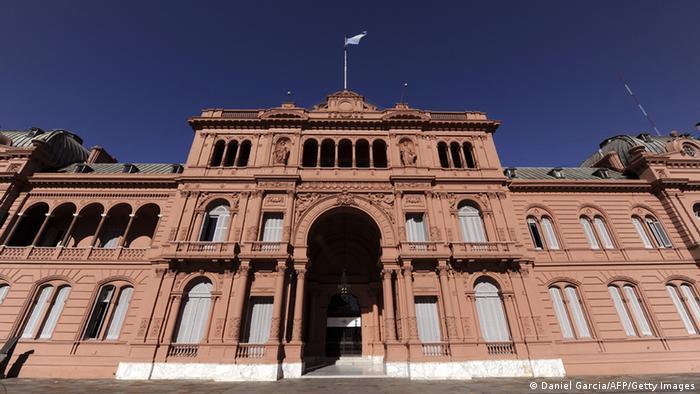 Argentinien Präsidentenpalast Archiv 2010 (Daniel Garcia/AFP/Getty Images)