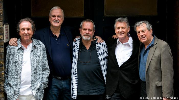 Die britische Comedygruppe Monty Python heute