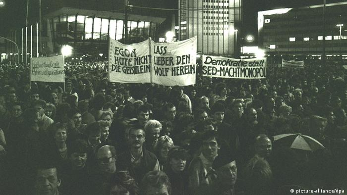 Demonstracija u Leipzigu 30.10.1989.