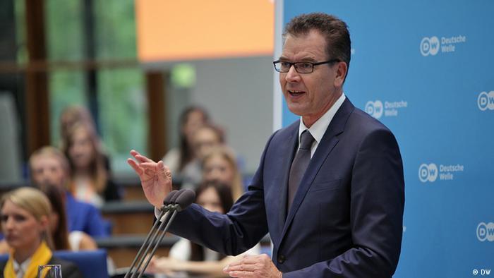 Global Media Forum 2014: Entwicklungsminister Gerd Müller