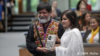 GMF Global Media Forum 2014 Bobs Award Winner Global Media Forum Award Poovri Bhargava