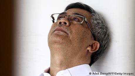 Indonesien Richter Akil Mochtar verurteilt in Jakarta