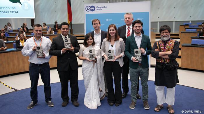 GMF Global Media Forum 2014 Bobs Award Winner Gruppenbild