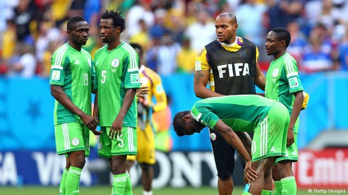 WM 2014 Achtelfinale Frankreich Nigeria