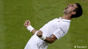 Tennis Wimbleton Novak Djokovic