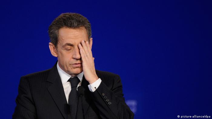 Former French President Nicolas Sarkozy in 2012 (picture-alliance/dpa)