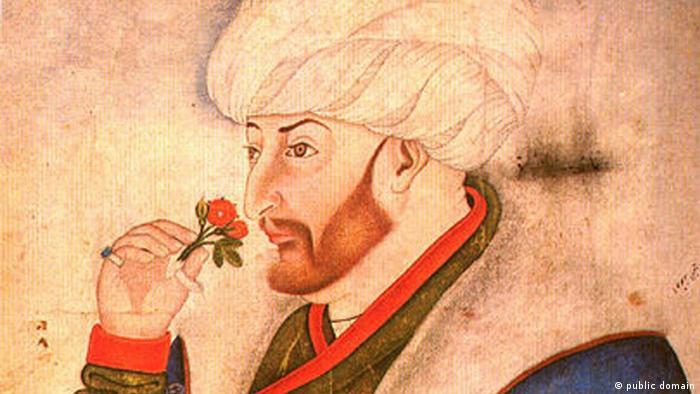 Sultan Mehmet II. (der Eroberer), Darstellung aus den Sarayı-Alben - Foto: Bilkent University / Sinan Bey (public Domain)
