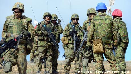 Japan Soldaten Übung 09.02.2014 (Frederic J. Brown/AFP/Getty Images)