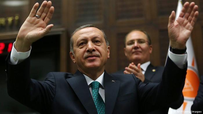 Recep Tayyip Erdogan tritt bei türkischer Präsidentschaftswahl an (Foto: AFP PHOTO/ADEM ALTAN)