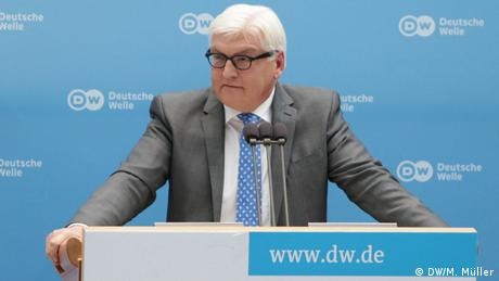 Global Media Forum Frank-Walter Steinmeier 01.07.2014 (DW/M. Müller)