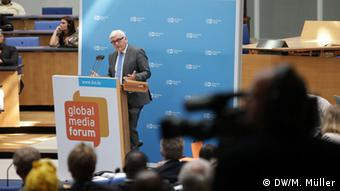 Global Media Forum Frank-Walter Steinmeier 01.07.2014