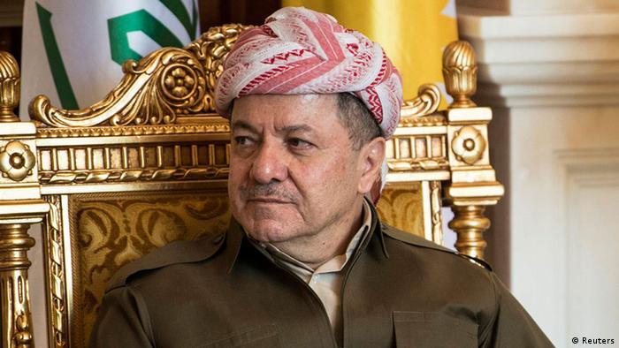 مسعود بارزانی، رئیس اقلیم کردستان عراق در پی تدارک همهپرسی برای استقلال این منطقه از عراق است