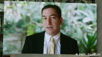 Glenn Greenwald en el Global Media Forum