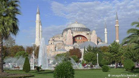 Die Kuppelbasilika Hagia Sophia - Foto: imago/blickwinkel