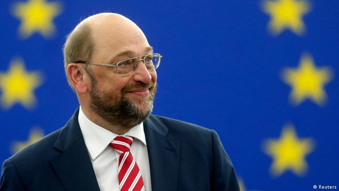 Europaparlament in Straßburg Wiederwahl Martin Schulz 01.07.2014