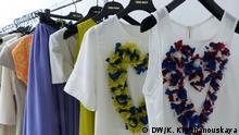 Modelle der Modedesignerin Inna Thomas